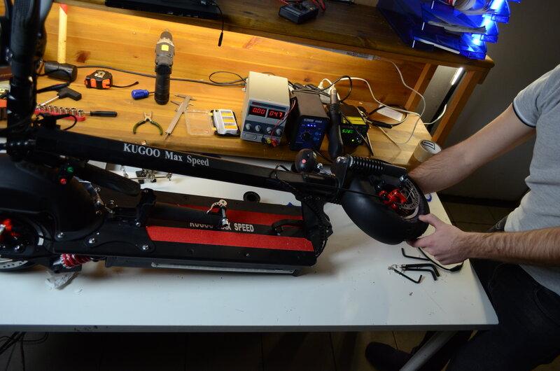 ремонт электросамокатов kugoo в москве
